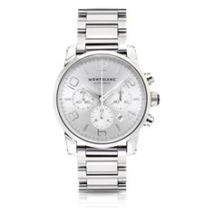 Montblanc TimeWalker Chronograph Automatic Silver $5300