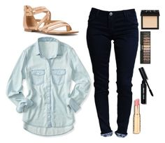 """OOTD."" by retalleyation ❤ liked on Polyvore featuring Aéropostale, Splendid, Bobbi Brown Cosmetics and NARS Cosmetics"