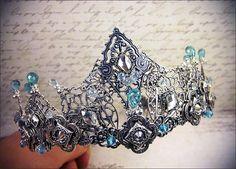 Custom Tiara, Tudor Crown, Custom Headpiece, Renaissance, Medieval, Crown, Bridal Headpiece, Queen, Costumes for Film, Design Your Own Crown...