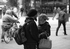 Couple; Berlin, Alexanderplatz
