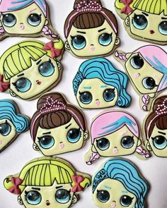 LOL Surprise Doll Sugar Cookies . . #cookiesofinstagram #cookiesjakarta #madebyorder #kukishias #hampers #bittersweet_customcookies #desserttablejakarta #desserttable #sweetcornerjkt #sweetcorner #jakarta #sugarcookies #decoratedcookies #kurabiye #kukisjakarta #lolsurprise #lolsurprisedolls #lolsurprisecookies