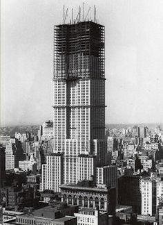 Construction of the #Empire #State Building