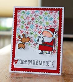 "MFT ""Jingle all the Way"" Stamp Set (11.21.14)"