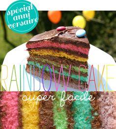 Un «rainbow cake» super facile