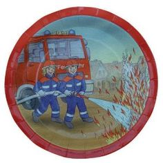 Firefighter Plates Teller, Firefighter, Back To School, Decorative Plates, Tableware, Home Decor, Fire Department, Toys, Dinnerware