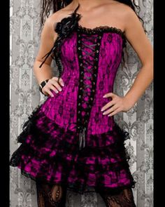 Goth/Emo/Punk/Scene/Alternative dress <3 Beautiful!....I love this