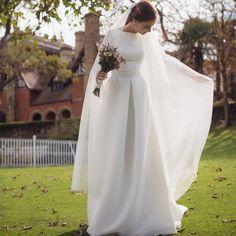 Vestido de novia Teresa Palazuelo.                              …