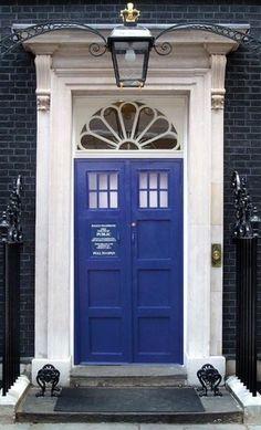 Tardis front door