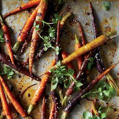 Chipotle-Roasted Baby Carrots // More Great Carrot Recipes: http://www.foodandwine.com/slideshows/carrots #foodandwine