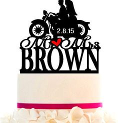 Wedding Cake Topper Custom With Your LAST NAME