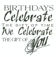 Catalog: Birthday - Verses Rubber Stamps