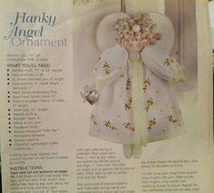 Wonderful idea to use vintage hanky