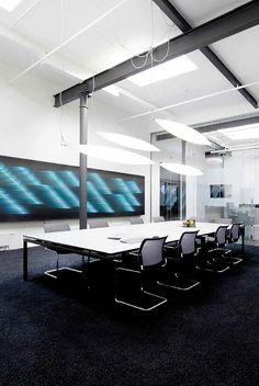 Hanging Light Fixtures, Hanging Lights, Office Lighting, Modern Offices,  Lighting Design, Shots, Lighting Solutions, London, Light Design