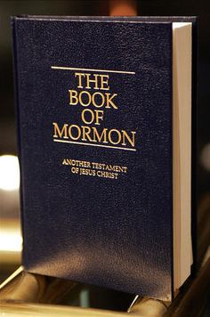 BEST BOOK EVER! It will totally change your life in such an amazing way! If you have any further questions also check out Mormon.org!