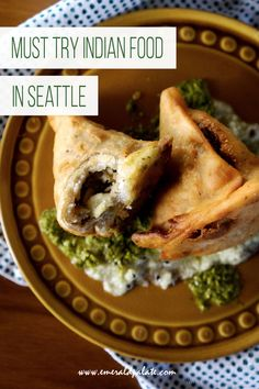 Must try Seattle Indian food. If you are looking for the best Indian restaurants in Seattle, this list is for you. It has North Indian, Southern Indian, and Pakistani restaurants and breaks down what Indian food dishes to get at each Indian restaurant in Seattle. Tamarind Sauce, Tamarind Chutney, Seattle Food, Seattle Travel, Chicken Tikka Masala, Chaat, Butter Chicken, Lunches And Dinners, Foodie Travel