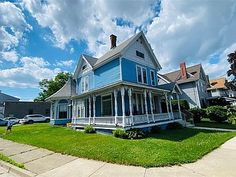 7 McDonald Ave, Binghamton, NY 13905 | MLS #311837 | Zillow Porch Flooring, Historic Architecture, Johnson City, Double Garage, Keller Williams Realty, Virtual Tour, Home And Family, Real Estate, Exterior