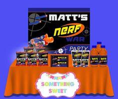 Dart Gun Backdrop - FREE SHIPPING   Something Sweet Party Favors Something Sweet, Pop Tarts, Party Favors, No Response, Custom Backdrops, How To Apply, Free Shipping, 10 Days, Gun