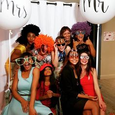 Laura & Lance's Wedding Photo Booth at Cape Point Vineyards! We love the Huge Mr & Mrs Balloons in the background! We took this picture before the real camera could! #photobooth #ohsnapphotoboothct #capetownphotobooth #photoboothcapetown