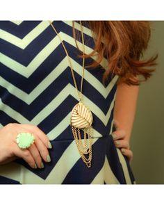 Jolie Cocktail Ring in Mint - Kendra Scott Jewelry #KSadventure #KendraScott