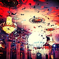 The Great Gatsby (2013) | NYC Premiere: dressing the ballroom at The Plaza Hotel for the premiere party.