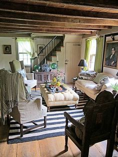 Wonderful Chic Cottage Room.  Annie Kelly;   The Cut, New York Magazine
