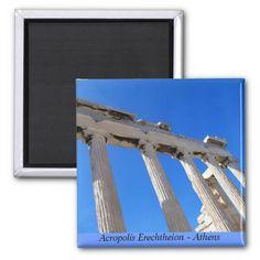 Acropolis Erechtheion - Athens Magnet