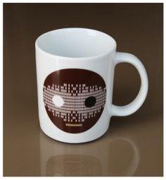 Patterned Smile Mug