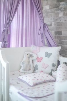 Ultra Soft Organic Cotton Baby Blanket Pink Breathable Light Weight and Warm Baby Crib Comforter with Cloud Quilted and Printed Pattern for Baby Toddler Boy or Girl