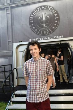 Asa Butterfield is 16, I think in real life. He played like, a 12 year old boy in Ender's Game.  Props to this actor.