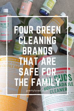 These green cleaning brands are some of my personal favorites, and not only are they effective, they are plant based, and are cheap too!prettyloved.com