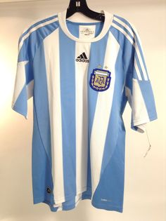 Blue/White Soccer Shirt