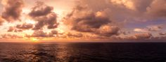 The morning sun shines through the clouds somewhere in the Gulf of Mexico. (Click the photo to view a larger version) Good Morning Sun, Gulf Of Mexico, Photo S, Larger, Sunshine, Clouds, Sky, Photography, Heaven