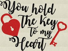Valentine's Day Quotes : QUOTATION – Image : Quotes Of the day – Description Valentines Quote You hold the key to my heart Sharing is Power – Don't forget to share this quote ! Valentines Quotes For Him, Valentine Images, Valentines Gifts For Boyfriend, Valentines For Kids, Valentine Crafts, Valentine Nails, Valentine Ideas, My Heart Quotes, Valentine's Day Quotes