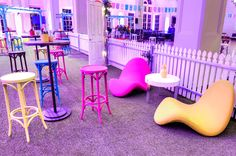 Valiant Hire Furniture at a recent Vogue event at David Jones Sydney City Store.