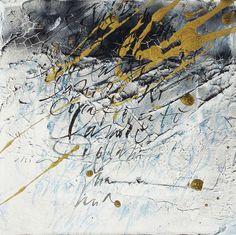 Sul Mio Letto Lungo La Notte Calligraphy by Massimo Polello