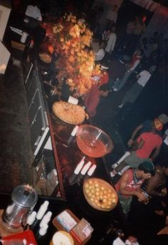 Paradise Garage juice bar,1981.