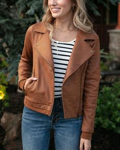 Knit Jacket, Moto Jacket, Grace And Lace, Thing 1, Autumn Winter Fashion, Fall Fashion, Capsule Wardrobe, Wardrobe Ideas, New Girl
