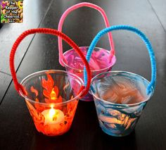 Plastic Cup Lanterns and Luminaries