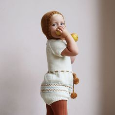 Romper 'Tove' via lillelovaknits. Click on the image to see more!