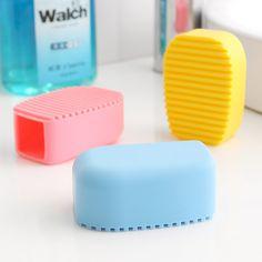 De mão doce cor sílica gel escova lavanderia mini placa de lavagem com sabão tábua de lavar escova de limpeza 2 peças/lote grátis frete em Tábua de Esfregar de Casa & jardim no AliExpress.com | Alibaba Group
