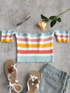 GET $50 NOW | Join Zaful: Get YOUR $50 NOW!https://m.zaful.com/off-shoulder-striped-crop-knitted-top-p_495482.html?seid=4062227zf495482