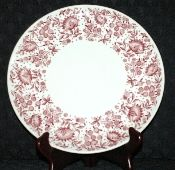 Syracuse China Mayfair Red Carefree Collection Dinner Plates