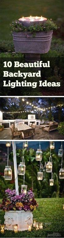 Magnificent Backyard Lighting, Backyard Hacks, Outdoor Living, Outdoor Lighting, Outdoor Lighting Tips and Tricks, Outdoor Lighting TIps, Popular Pin The post Backyard Lighting, Backyard Hacks, O ..