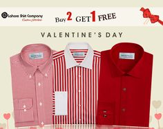 Life is too short to spend with the people whom you love ! Valentine Day Offer Valid till 14th Feb-2016  LSC is offering its exclusive and premium quality custom dress shirts for its Customers on this special event. Don't wait to avail this amazing deal and share blissful moment with your loved ones. Call us at (042) 35844470 and our stylist will pay you a complimentary visit to show you the catalogue. Large collection of Fabrics and Style available at Lsc