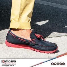 Komcero'nun özgün tasarımlarıyla şık ve rahat adımlar... #Komcero #ayakkabı #trend #fashion #moda #AyağınızdakiEnerji