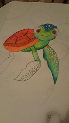 Turle bubble My Drawings, Bubbles, Animals, Rocks, Animales, Animaux, Animal Memes, Animal, Animais