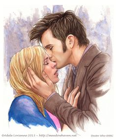 Ten (10) and Rose - Doctor Who