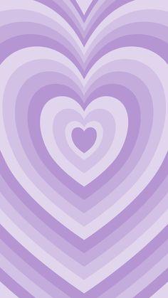 Phone wallpaper, background. 'pastel purple heart' (2)