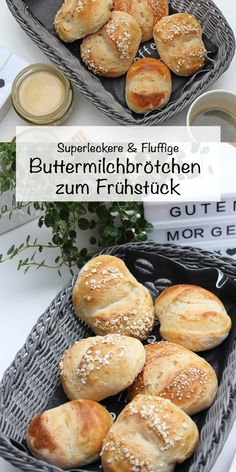 Du suchst ein tolles Brötchenrezept? Dan hab ich eins! Wunderbare weiche, leckere und köstliche Buttermilchbrötchen machen jedes Frühstück oder Nachmittagskaffee zu einem tollen Tag! Diese Brötchen werden mit einem einfachen Buttermilchteig gebacken und das herrliche an diesem Rezept ist. #buttermilchbrötchen #brötchen #Brötchenbacken #buttermilchteig #Brötchenselberbacken #ButtermilchbrötchenRezepte #sonntagsistkaffeezeit