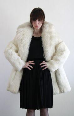 1950s Rabbit Fur Coat